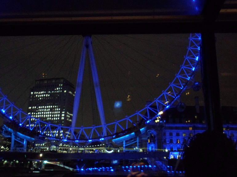 The London Eye from the Boat - London