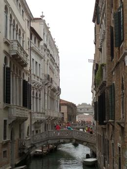 Passing from San Marco, with a view of the Bridge of Sighs. , Lileks - July 2014