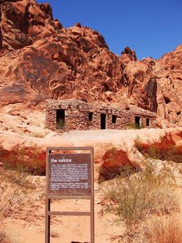 Valley of Fire huts - March 2009