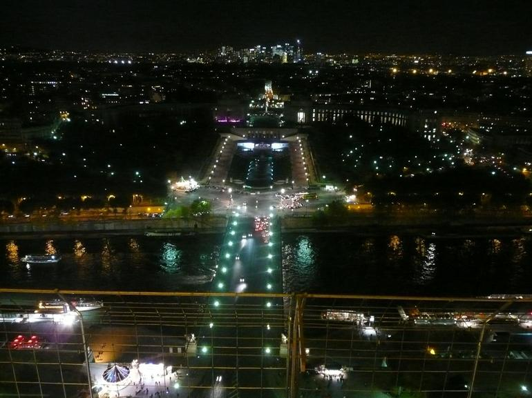 View of paris from the second landing of the Eiffel Tower - Paris