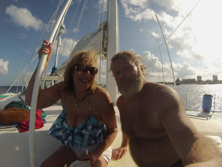"""FE"" Catamaran Sail and Snorkel Tour in Cozumel photo 25"