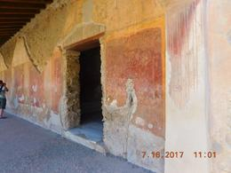 Pompeiian fresco , Marilyn H - July 2017