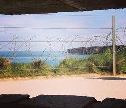 Bunker at Pointe du Hoc , Michelle F - August 2017