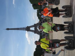 Finish of the tour on a beautiful and fun day in Paris. , Kathleen P J - July 2015