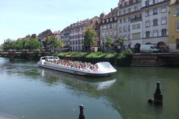 A Canal Sightseeing Boat in Strasbourg, taken during Black Forest and Strasbourg Day Trip from Frankfurt. , Mario S - July 2014