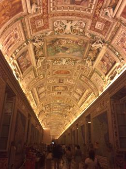 It's worth the price of this tour just to see the ceilings in the Vatican. , Joan T - July 2014