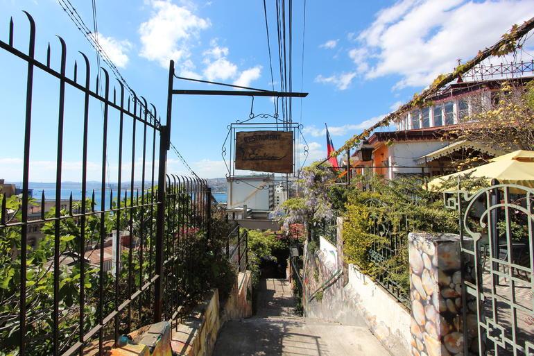 Alley - Santiago