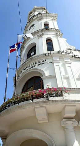 A building that caught my eye in the centre of Santo Domingo , Allan - September 2015