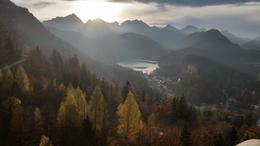 This was the spectacular view from the balcony of Neuschwanstein. , Steven S - November 2014