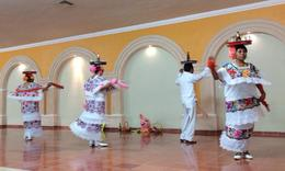 Traditional Mexican Dancing , Paulina J - March 2014