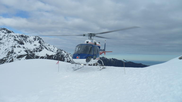 Helicopter over Franz and Fox trip - Franz Josef & Fox Glacier