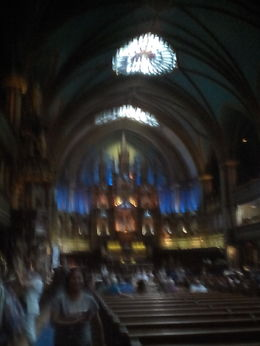 This is the center attraction of Notre Same. It is well worth Canadian 5 to go in. This is required to tour Notre Same Basilica as it is a National Historic landmark. , Bill - July 2016