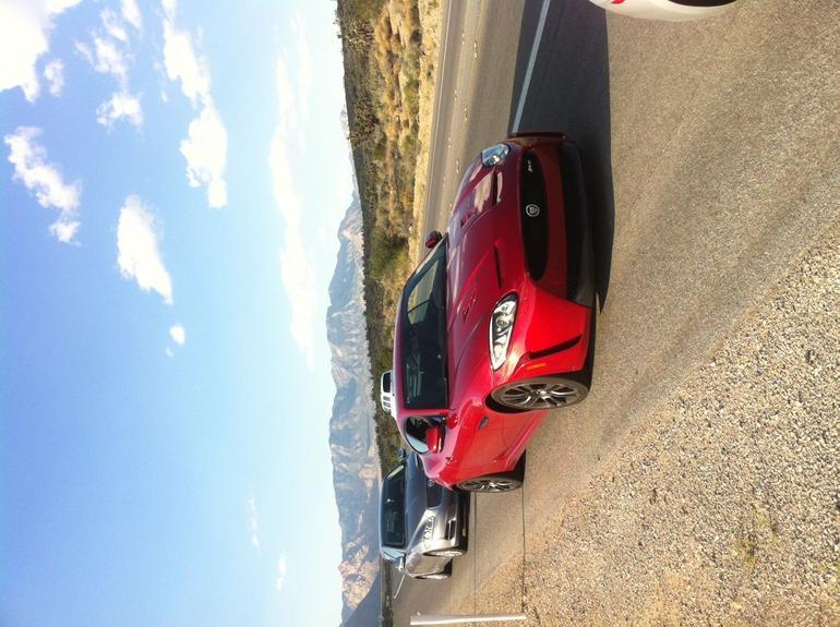 Jaguar XKRS - Las Vegas