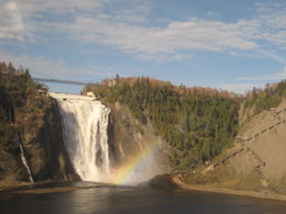 The falls with rainbow... , ankeen T - October 2015