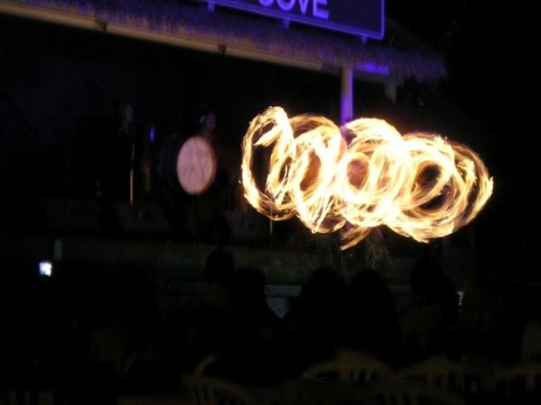 Paradise Cove Fire Knife Dancer - Oahu