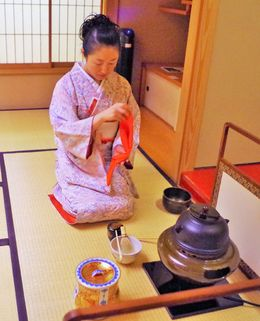 Start of the Tea Ceremony. , Bill604 - November 2015