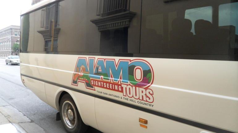 Tour Bus - San Antonio