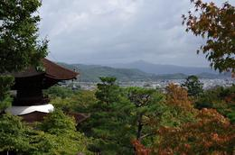 View of Kyoto from hill above Arashiyama. , Kenneth J B - November 2013