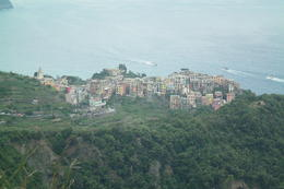 View of second town from on top of the mountain. , Michelle C - June 2012