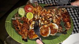 BBQ dinner in Jimbaran Bay , Danijela N - May 2016