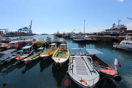 Small fishing boats in Valparaiso., Bandit - October 2013