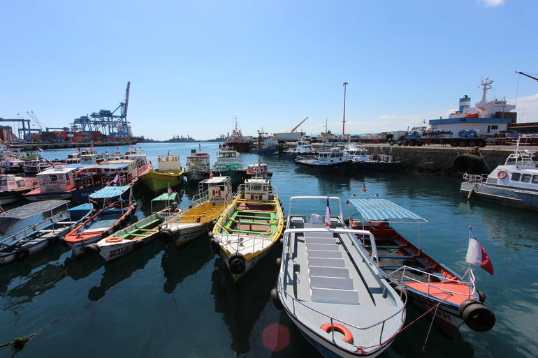 Boats - Santiago