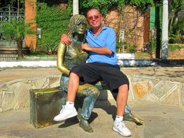 Brigitte Bardot made Buzios porpular. One must visit her bronze statue when in Buzios., Ariel V - February 2010