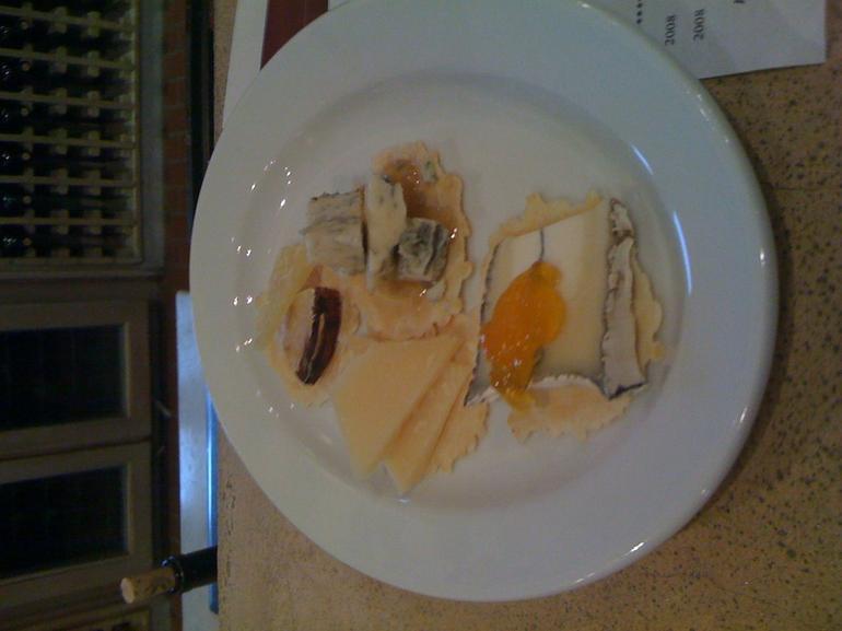 Cheese plate - San Francisco