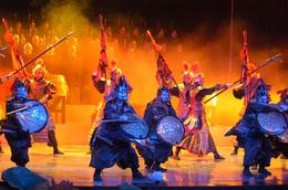 The performance showed China's history and heritage. They had so many costume changes. It was such an amazing show! - May 2012