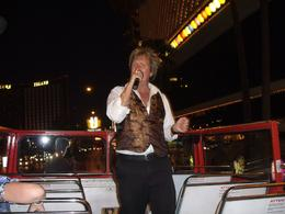 He sang and gave us useful info about the city., Daniel M - September 2009