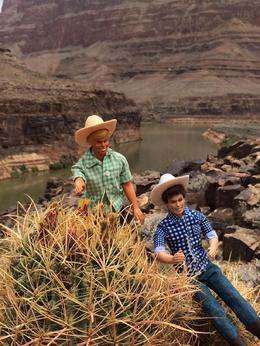 Kenny and Kenneth at the Grand Canyon. , Robert A - June 2016