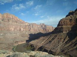 This was when we landed in the Grand Canyon We were given time to wander around and take in the scenery before breakfast The experience is so surreal, photos and videos do not the Grand Canyon..., zara f - May 2016