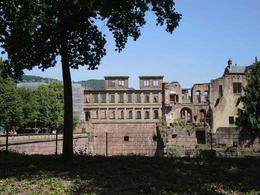 Heidelberg Castle Ruins , jcb - June 2014