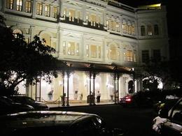 Raffles hotel , Lidia - August 2012