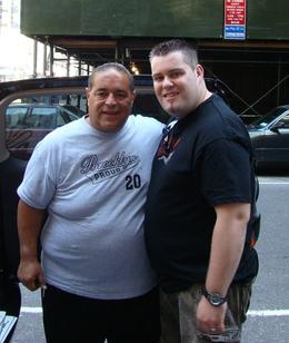 We got to meet Joe just before the tour started!, Ross D - October 2008