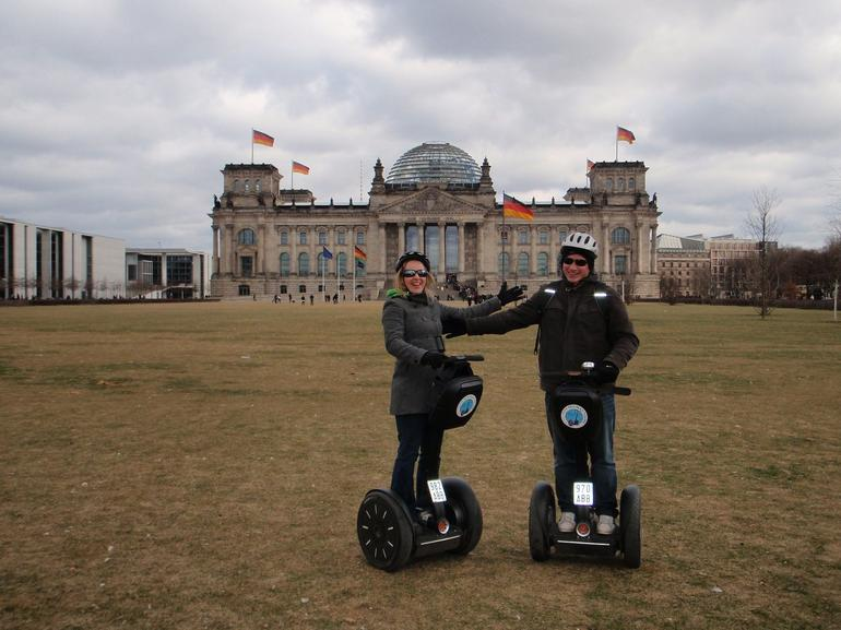Kel and Paul, Berlin Segway tour - Berlin