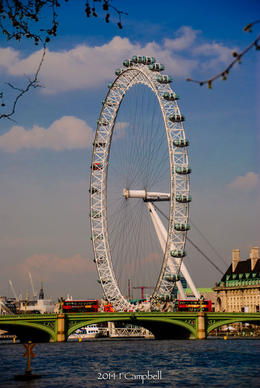 London Eye , FRANK C - April 2014