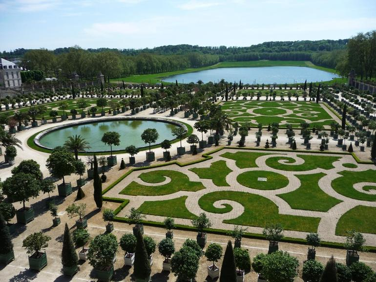 More Gardens at Versailles - Paris
