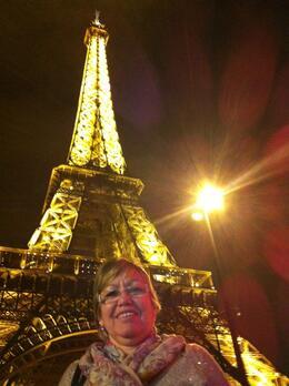 Passeio na Torre Eiffel a Noite, Celi Machado , Rio de Janeiro , Brasil , Jose Carlos M - October 2014