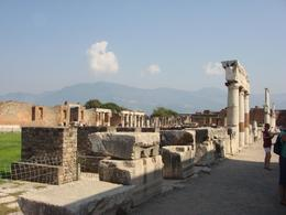 Pompeii market square if I remember right. - December 2007