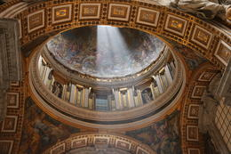 Saint Peters Basilica , crvinci - July 2014
