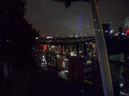 You can see the boat itself in the foreground there, and London in the background. We really loved this cruise!, CoyoteLovely - November 2011