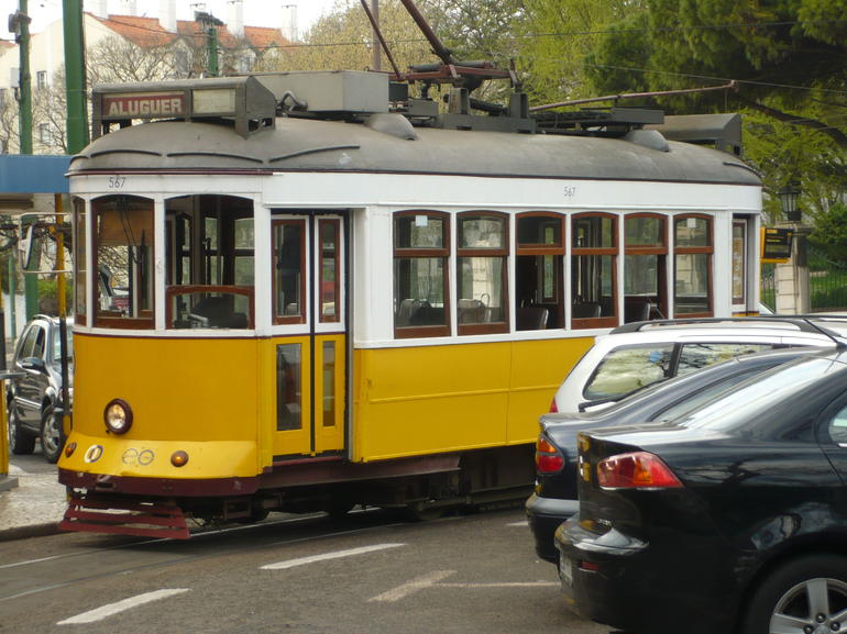 Tram without a driver - Lisbon
