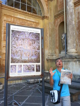 Wonderful background to the Sistine Chapel provided by Nicolas. This was in lieu of such information since it is forbidden to give tours and present the info in the Chapel. Nicolas did a wonderful ... , j.k.magarian - September 2014