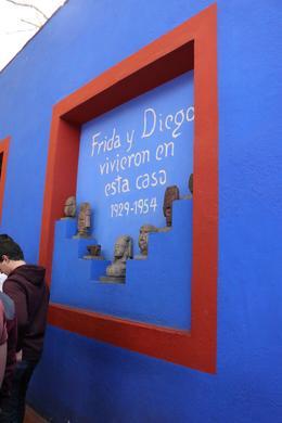 Casa Azul. Frida Calo museum. , Lino V - January 2018