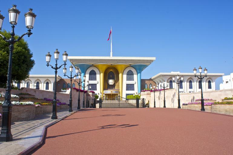 Al Alam Palace - Muscat