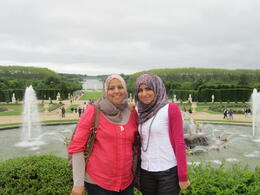 Versailles Palace and Gardens , Amani A - June 2012