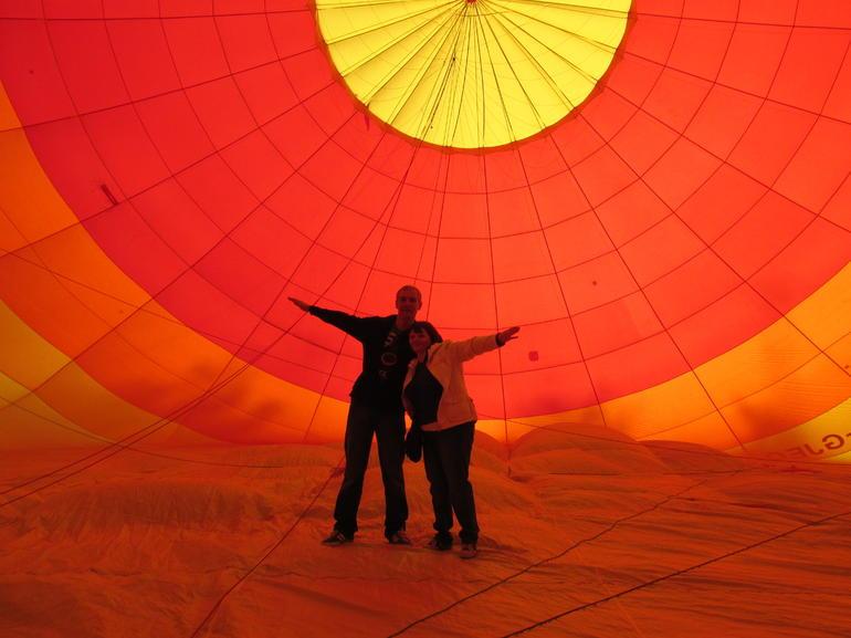 balloon trip - Las Vegas