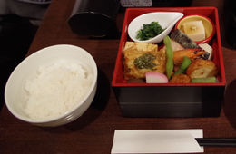 The bento box part of lunch. , Bill604 - November 2015