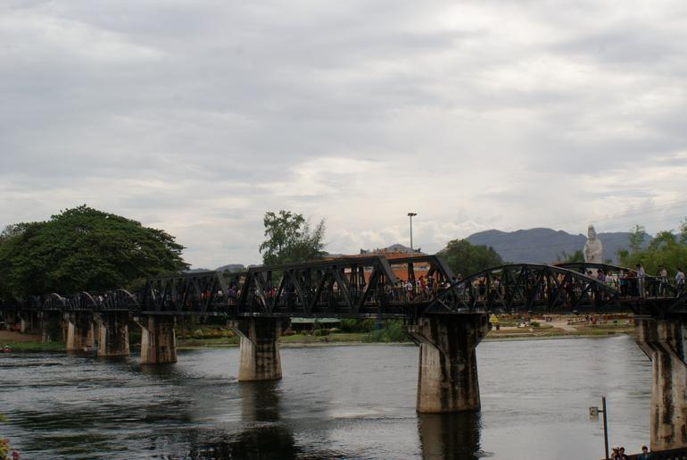 Bridge over the River Kwai. - Bangkok